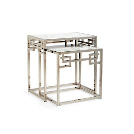 Greek Key Nesting Tables