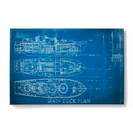 Blue Print Collection Mini Deck Plan