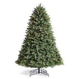 Balsam Instashape Artificial Pre-lit Christmas Tree