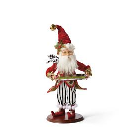 Mark Roberts Party Butler Elf with Striped Pants