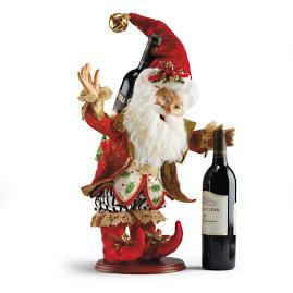 Mark Roberts Party Elf Wine Holder