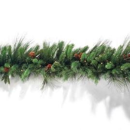 Grand Majestic Cordless Garland