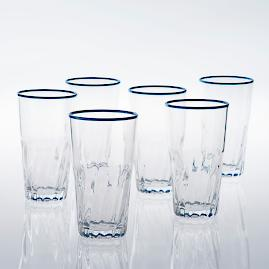 Cantina Highball Glasses, Set of Four