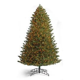 Signature Fraser Fir Artificial Pre-lit Christmas Tree