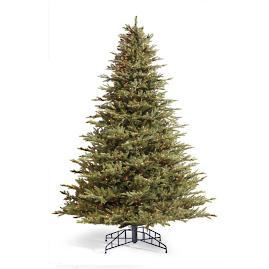 Grand Fraser Fir Artificial Pre-lit Christmas Tree