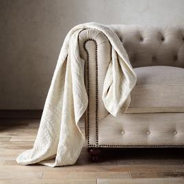 Allegra Jacquard Woven Throw