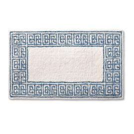 Rhodes Greek Key Bath Rug