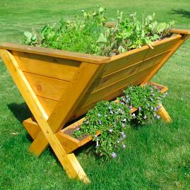 Wedgetable Elevated Garden