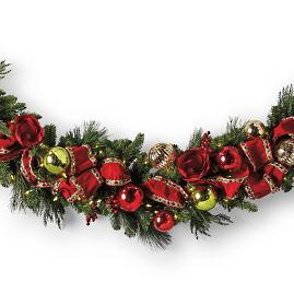 Jolly Holiday Cordless Garland