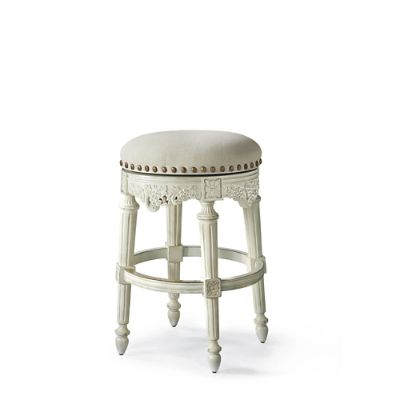 Provencal Grapes Swivel Backless Bar Height Stool 30