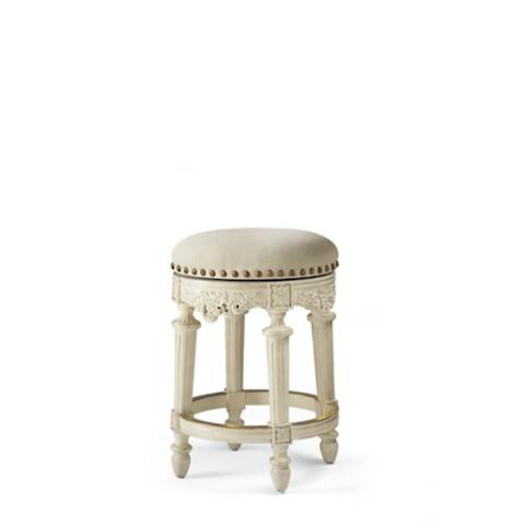 Provencal Grapes Swivel Backlesss Counter Height Stool 26