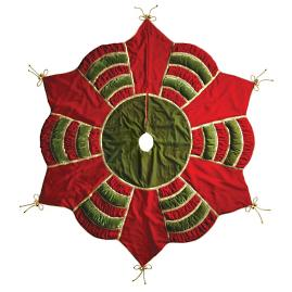 'Tis the Season Quilted Tree Skirt