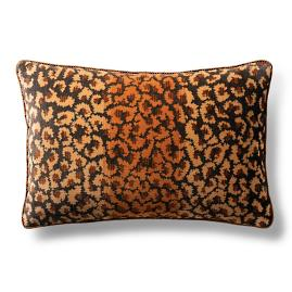 Rock Leopard Decorative Pillow by Dransfield & Ross