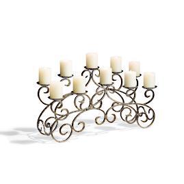 Florence Fireplace Candelabra