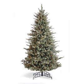Grand Blue Spruce Artificial Pre-lit Christmas Tree