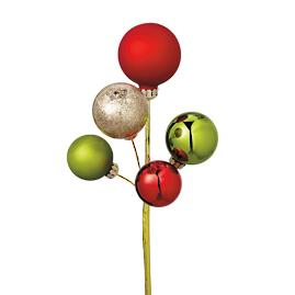 Mini Ornament Cluster Picks, Set of 12