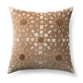 Velvet Tiled Decorative Pillow