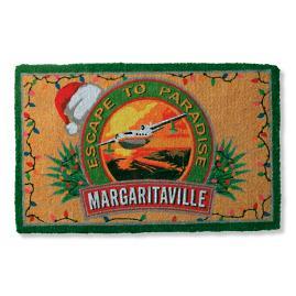 Margaritaville Christmas Logo Mat