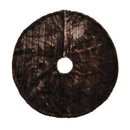 Channeled Mink Luxe Faux Fur Tree Skirt