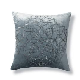 Rousseau Decorative Beaded Throw Pillow
