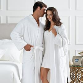 Canyon Ranch Men's Plush Robe