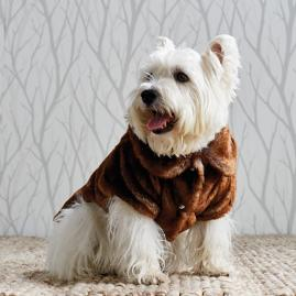 Faux Fur Pet Jacket