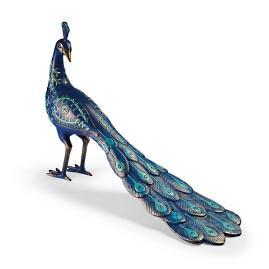 Peacock Garden Sculpture