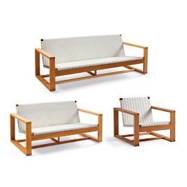 Laurent 3-pc. Sofa Set by Porta Forma