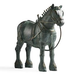 Clydesdale Horse Statue