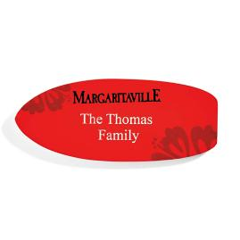 Margaritaville Personalized Magnetic Surfboard Plaque