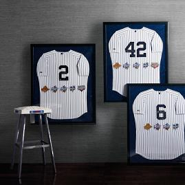 Yankees World Series Jersey Collection