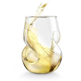 Conundrum White Wine Glasses, Set of Four