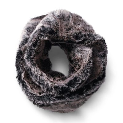 The Best in Faux Fur Accessories; Frontgate Infinity Scarf
