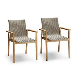 Savona Set of Two Dining Arm Chairs