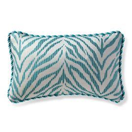 Zebra Linen Aruba Outdoor Lumbar Pillow