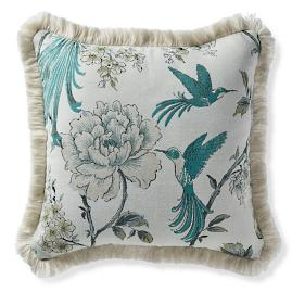 Avian Grove Peacock Outdoor Pillow