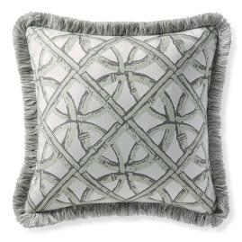 Boca Rattan Mint Outdoor Throw Pillow