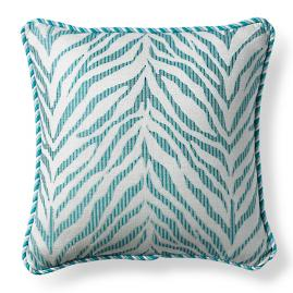 Zebra Linen Aruba Outdoor Pillow
