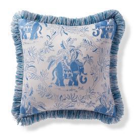 Kavindra Air Blue Outdoor Pillow