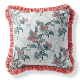 Alisanne Bloom Peony Outdoor Pillow