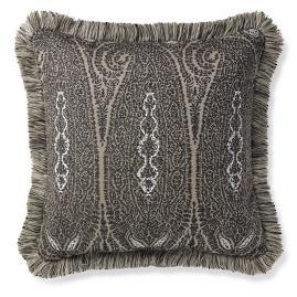 Bavishi Paisley Onyx Outdoor Pillow