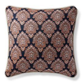 Kashmir Jewel Apricot Outdoor Pillow