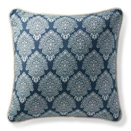 Kashmir Jewel Chambray Outdoor Pillow