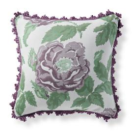 Margaux Bloom Iris Outdoor Pillow
