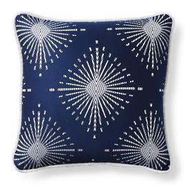 Soleil Gem Indigo Outdoor Pillow
