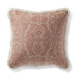 Tangier Ogee Peche Outdoor Pillow