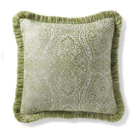 Tangier Ogee Seaglass Outdoor Pillow