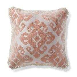 Tula Medallion Peche Outdoor Pillow