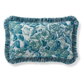Je T'aime Jade Outdoor Lumbar Pillow