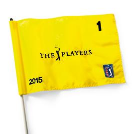 The Players Championship 2015 Flag - Hole 1